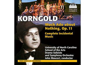 University of North Carolina Symphony Orchestra - Much Ado about Nothing, Op.11, Complete Incidental Music - (CD)