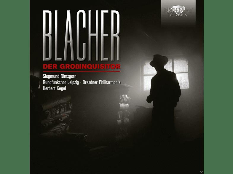 Siegmund Nimsgern, Herbert Kegel, Rundfunkchor Leipzig, Dresdner Philharmonie - Der Großinquisitor [CD]