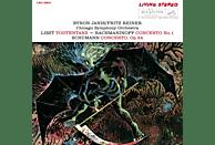 Byron Janis, Fritz Reiner, Chicago Symphony Orchestra - Totentanz/Klavierkonzert 1/Klavierkonzert [CD]