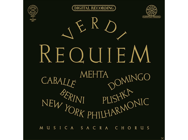 Zubin Mehta, Montserrat Caballé, Bianca Berini, Plácido Domingo, New York Philharmonic Orchestra, Plishka Paul - Requiem [CD]