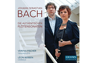 Verena Fischer, Léon Berben - Die authentische Flötensonaten [CD]