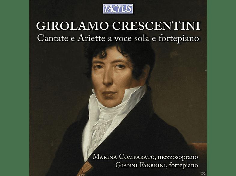 Marina Comparato, Gianni Fabbrini - Cantate E Ariette A Voce Sola E Fortepiano [CD]