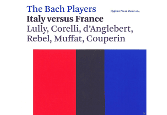 The Bach Players - The Bach Players - Italy versus France  - (CD)