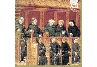 Paul Hillier, Theatre Of Voices - Monastic Chant - (CD)