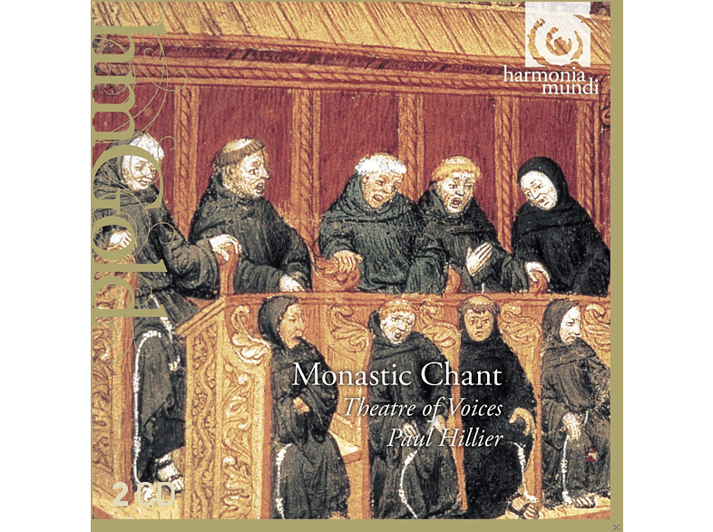 Paul Hillier, Theatre Of Voices - Monastic Chant [CD]