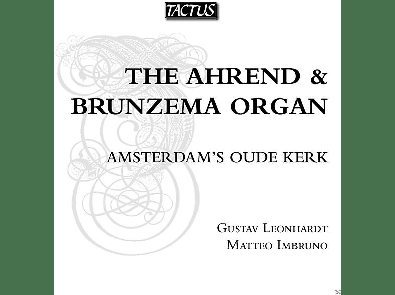 Gustav Leonhardt, Matteo Imbruno - Ahrend & Brunzema Organ of Amsterdam Oude Kerk [CD]