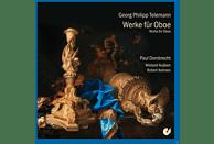 Paul Dombrecht, Wieland Kuijken, Robert Kohnen - Teleman: Werke Für Oboe [CD]