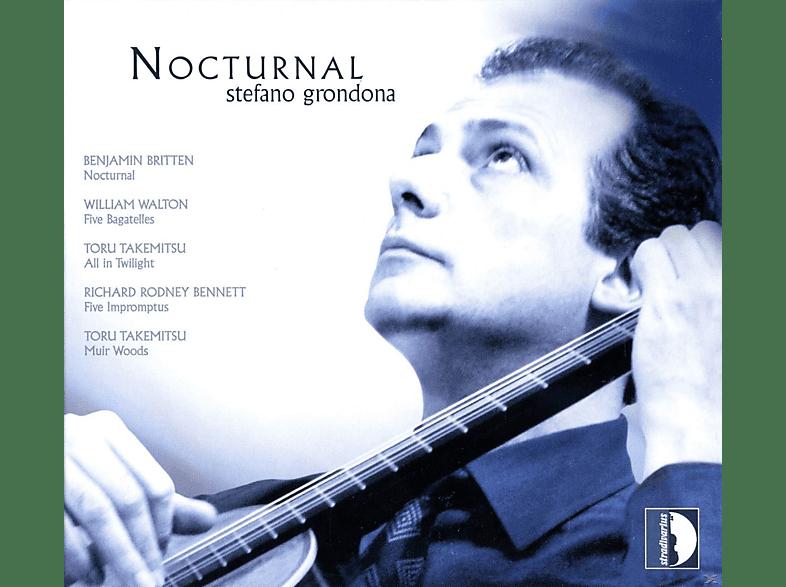 Stefano Grondona - Nocturnal -  Werke für Gitarre [CD]