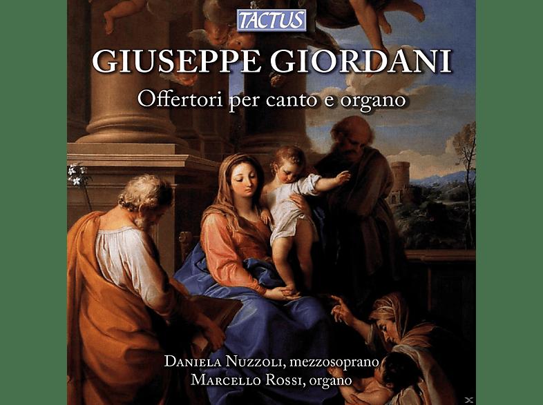 Daniela Nuzzoli, Marcello Rossi - Offertorien für Stimme und Orgel [CD]