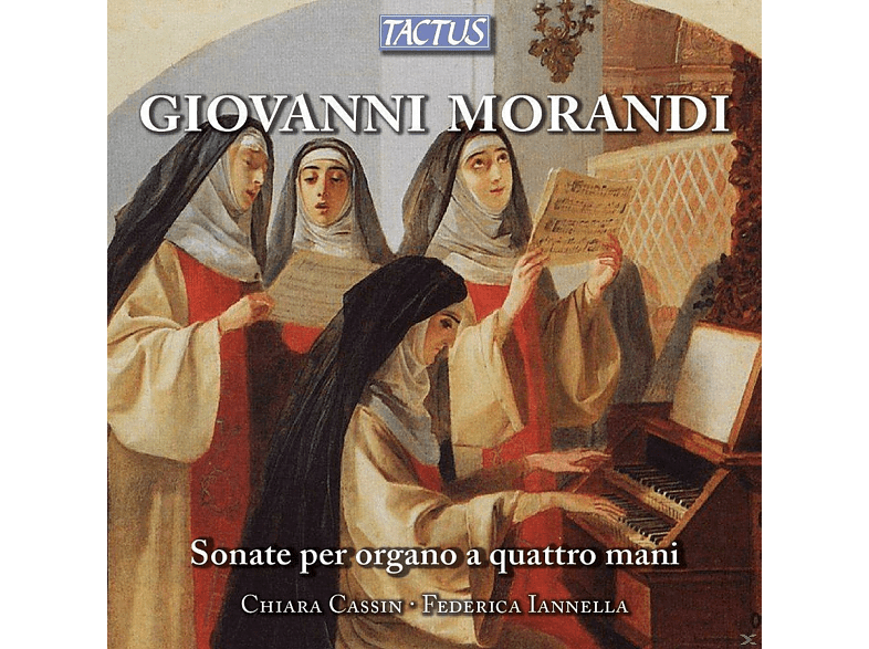 Chiara Cassin, Federica Lannella - Orgelsonaten zu vier Händen [CD]