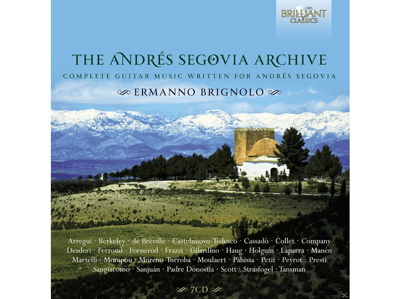 VARIOUS - The Andres Segovia Archives [CD]