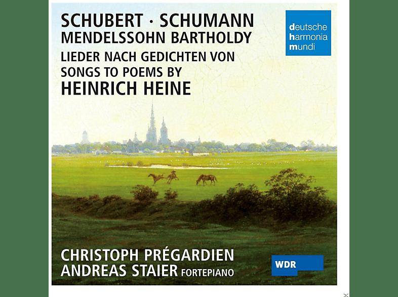 Christoph Prégardien, Andreas Staier - Lieder Nach Gedichten Von Heinrich Heine [CD]