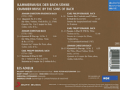 Les Adieux - Kammermusik Der Bach-Söhne [CD]