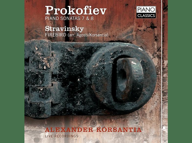 Korsantia Alexander - Piano Sonatas 7 & 8 [CD]