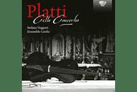Stefano Veggetti, Franziska Romaner, Isabella Bison, Andrea Rognoni, Ensemble Cordia - Cello Concertos [CD]