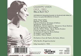 Maria Callas, Tito Gobbi, Giuseppe Di Stefano, Coro E Orchestra Del Teatro Alla Scala Di Milano - Giuseppe Verdi: Rigoletto  - (CD)