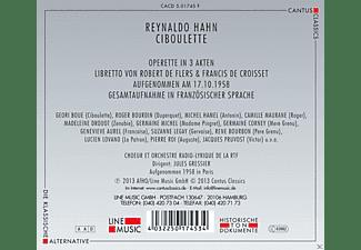Geori Boue, Michel Hamel, Madeleine Drouot, Lucien Lovano, Choeur Et Orchestre Radio-lyrique De La Rtf, Maurane Camille, Roger Bourdin - Ciboulette  - (CD)