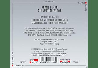 Rita Zorn, Karl-Friedrich Hölzke, Hans-Georg Nowotny, Ernst Kozub, Hans-Peter Schwarzbach, Richter Ursula - Die Lustige Witwe  - (CD)