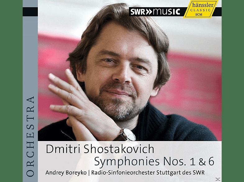 Andrey Boreyko, Radio-Sinfonieorchester Stuttgart des SWR - Symphonies Nos. 1 & 6 [CD]