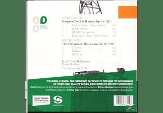 Martyn Brabbins, Royal Flemish Philharmonic - Symphony No. 6-Three Symphonic Move  - (CD)