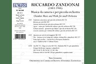 Trio Guarino, Orchestra da Canera di Trento, Ensemble Zandonai - Musica de camera e per piccola orchestra [CD]