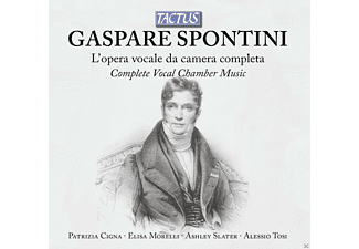 Patrizia Cigna, Elisa Morelli, Ashley Slater, Alessio Tosi - Complete Vocal Chamber Music - (CD)