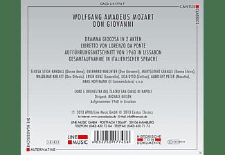 Hans Hoffmann, Teresa Stich-randall, Montserrat Caballé, Orchestra Del Teatro San Carlo Di Napoli, Waldemar Kmentt, Eberhard Waechter - Don Giovanni  - (CD)