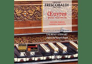 Laurent Stewart - CEMBALOWERKE  - (CD)