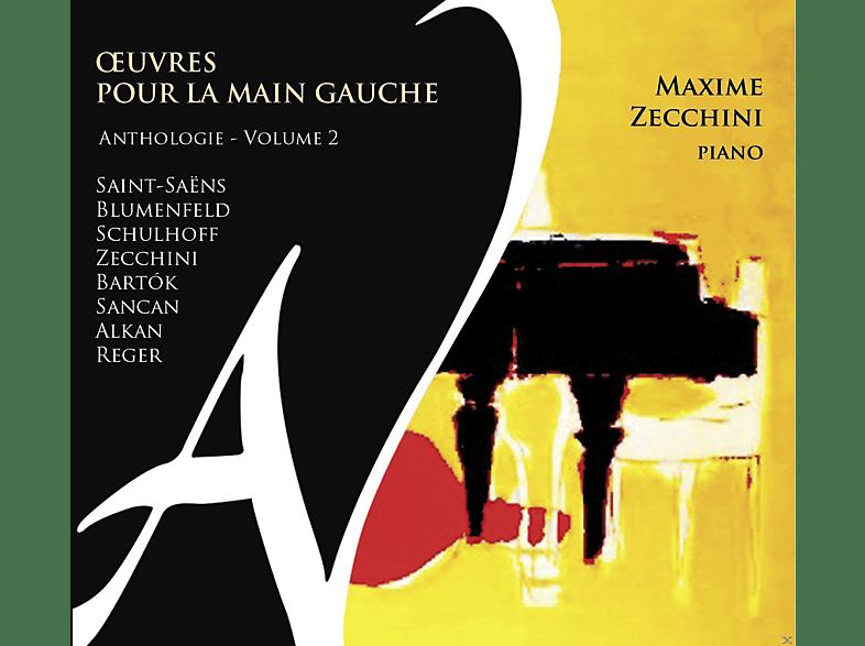 Maxime Zecchini - Werke Für Die Linke Hand Vol.2 [CD]