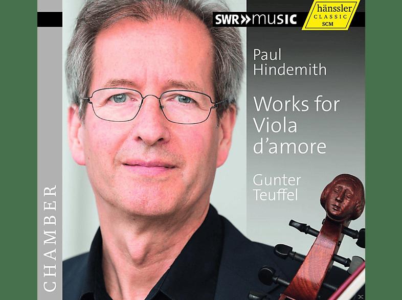 VARIOUS, Gunter Teuffel - Werke Für Viola D'Amore [CD]