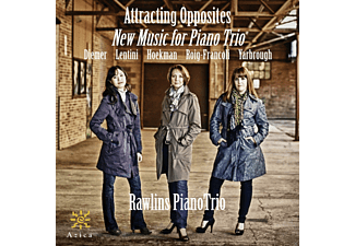 Attracting Opposites - New Music For Piano Trio - (CD)