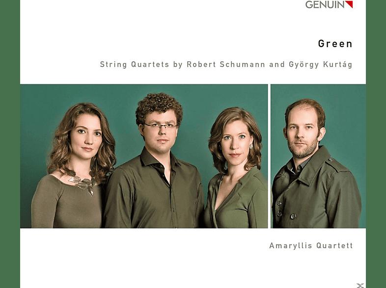 Amaryllis Quartett - Green-Streichquartette [CD]
