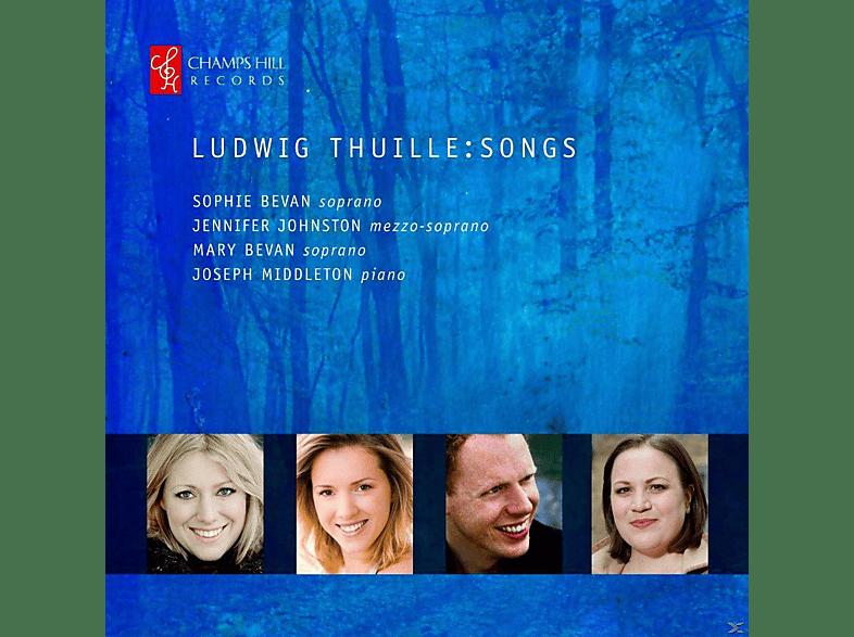 Joseph Middleton, Sophie Bevan, Jennifer Johnston, Mary  Bevan - Lieder [CD]