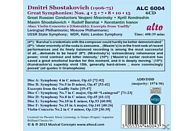 VARIOUS - Schostakowitsch: Die grossen Sinfonien-Nr.4,5,6,8,10,15/+ [CD]