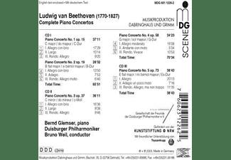 Bernd Glemser - Sämtliche Klavierkonzerte  - (CD)