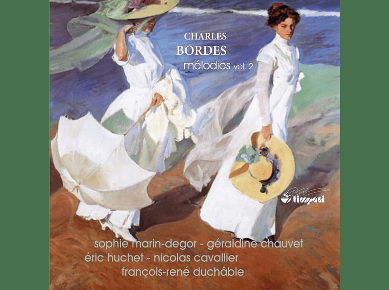 Nicole Cavallier, Sophie Marin-degor, Geraldine Chauvet, Eric Huchet, Francois-rene Duchable - Die Lieder Vol. 2 [CD]
