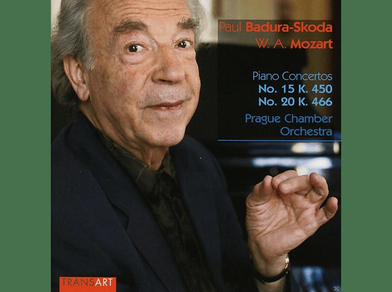 Paul Badura-skoda, Prague Chamber Orchestra - Piano Concertos No. 20 K. 466 & No. 15 K.450 [CD]