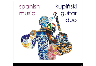 Kupinski Guitar Duo - Spanish Music - (CD)