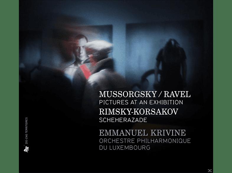 Orchestre Philharmonique de Luxembourg - Bilder einer Ausstellung/Scheherazade [CD]