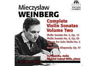 Yuri Kalnits, Michael Csanyi-Wills - Complete Violin Sonatas Volume Two [CD]