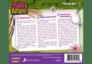 Kati & Azuro Box 1 - Pferde-Abenteuer-Box  - (CD)