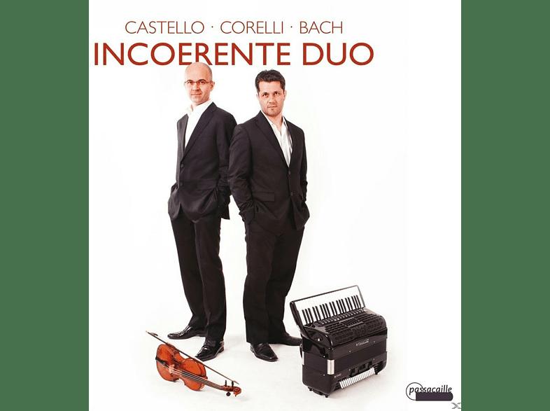 Incoerente Duo - CASTELLO, CORELLI, BACH [CD]