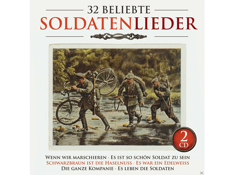 VARIOUS - 32 Beliebte Soldatenlieder [CD]