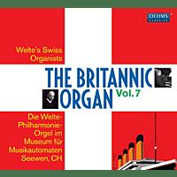 Franz Joseph Breitenbach, Paul Hindermann, Karl Matthaei, Johann Jakob Nater - The Britannic Organ Vol.7 [CD]
