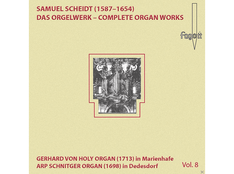 Thomas Meyer-bauer - Scheidt: Complete Organ Works Vol. 8 [CD]