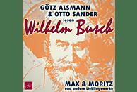 Max und Moritz und andere Lieblingswerke von Wilhelm Busch - (CD)