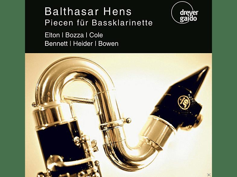Balthasar Hens, Chen Hsiao-Yen, Liliencron-Quartett der Stuttgarter Philharmoniker - Piecen Für Bassklarinette [CD]