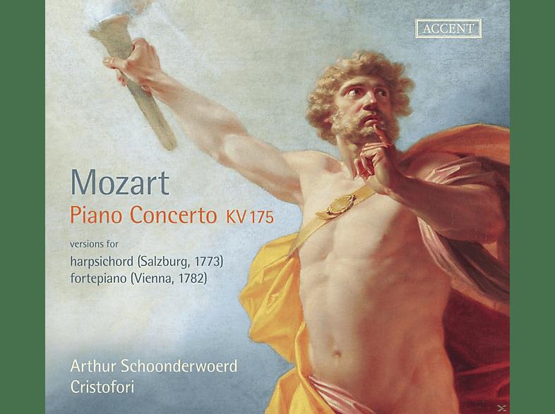 Johanette Zomer, Ensemble Cristofori - Mozart: Piano Concerto KV 175 [CD]