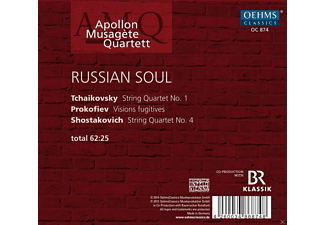 Apollon Musagète Quartett - Apollon Musagète Quartet: Russian Soul  - (CD)