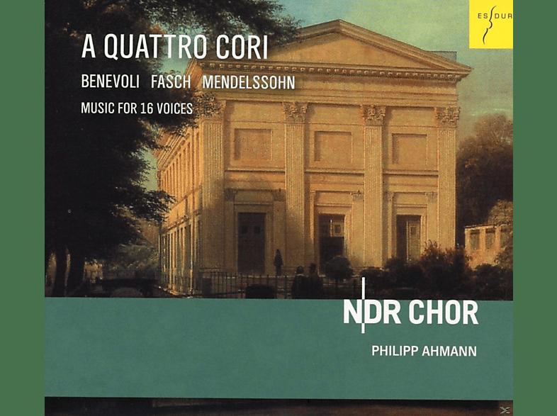 Ndr Chor - A Quattro Cori [CD]